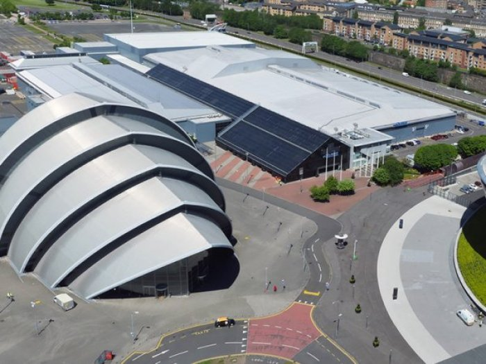 Glasgow SEC, location for Plasa Focsu and the AV User Group meeting, January 17th, 2018