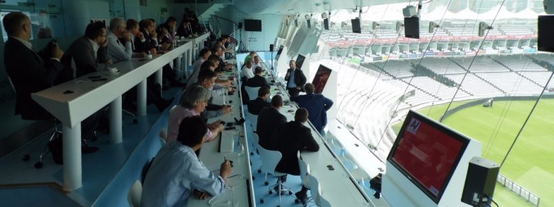 September 2014 meeting at the Lords Cricket Ground Media Centre